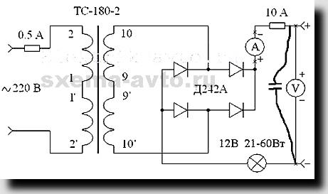на схеме указан ТС180-2).