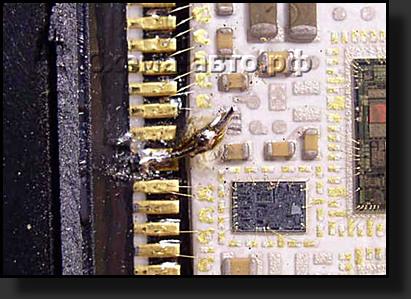 Ремонт блока abs 8E0614111в passat B5...и не только