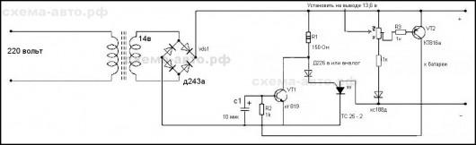 схема зарядного устройства фото