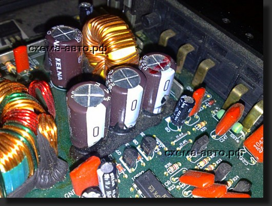 Квадрофонический усилитель(LADA AL 100.4) фото