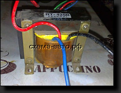 зарядное устройство для аккумуляторов - схема