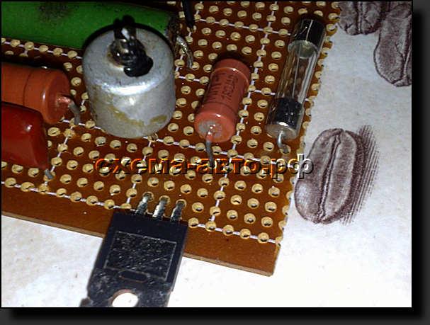 Возможно понадобиться принудительное охлаждение схемы.  Для этого можно использовать кулер от компьютерных блоков...