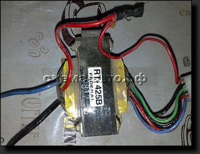 Мощное зарядное устройство  - схема