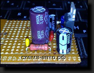 усилитель на микросхеме TDA2003