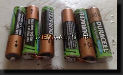 Зарядное устройство-для пальчиковых аккумуляторов в авто