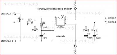 Микросхема TDA2822 в жизни автомобиля
