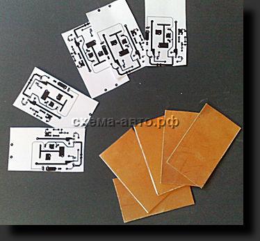 Простой метод создания печатных плат