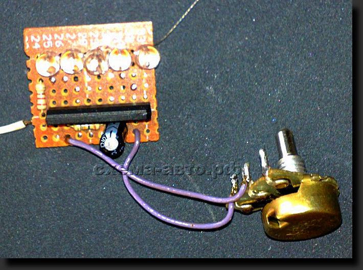 Индикатор уровня сигнала на микросхеме ва6164 (ka2284, an6884.