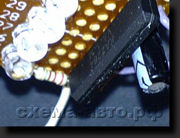 Индикатор аудио сигнала на Ka2284 картинка
