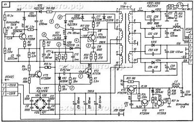 Зарядное устройство для АКБ из МП3-3 схема