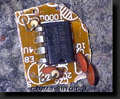 Микросхема TDA2822 фото