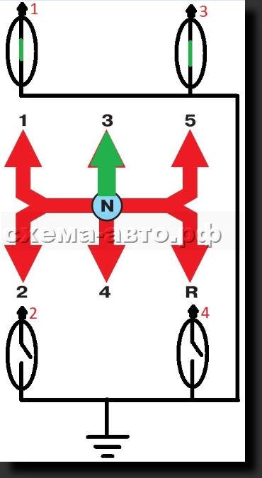 Индикатор отображения передачи КПП своими руками1