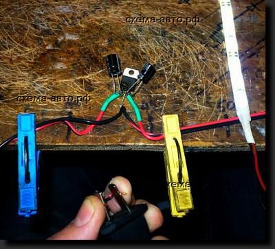 Стабилизатор на 12 вольт на lm7812 схема