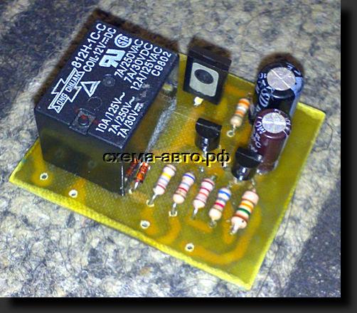 Транзисторы в схеме защиты в