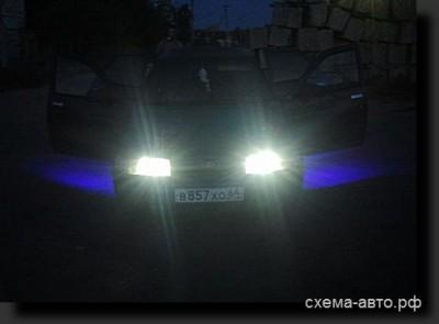 Независимая подсветка дверей на светодиодах RGB