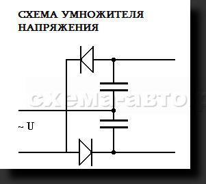 Схема ионизатор воздуха фото