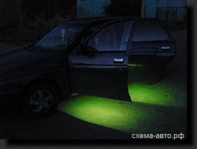 Независимая подсветка на светодиодах RGB