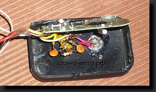 Жучок из FM-модулятора авто