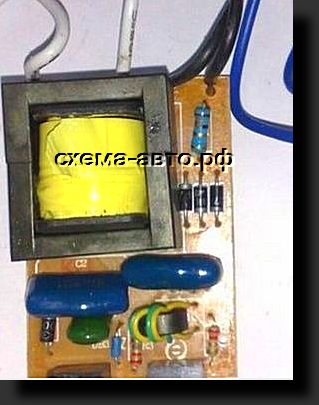 Зарядное Устройство из электронного трансформатора