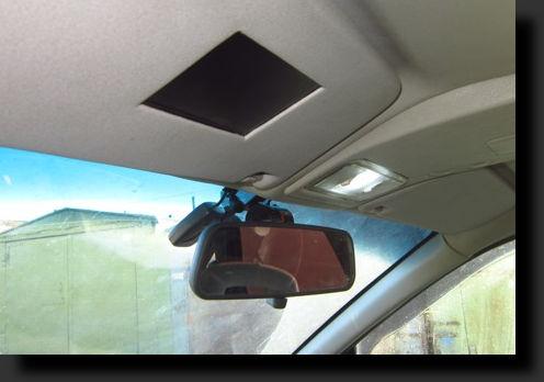 монитор в козырёк автомобиля своими руками фото