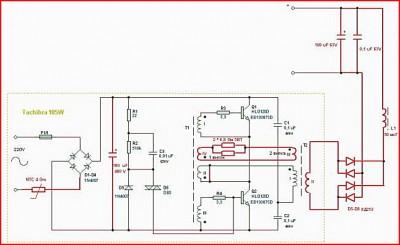 Простое зарядное устройство для АКБ схема