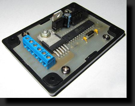 Блок управления ДХО на микроконтроллере Atmega8