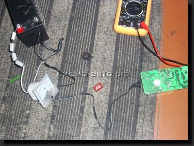 ЗУ для аккумулятора из дешевого китайского БП