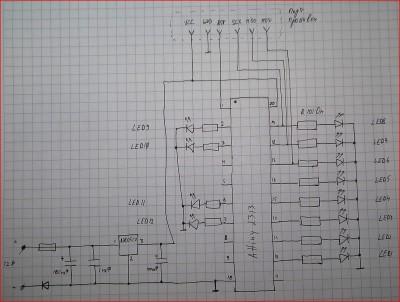 Накладка с подсветкой на пороги схема
