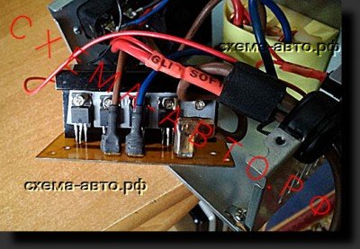 Преобразователь 12-220 50 Гц - самый простой!