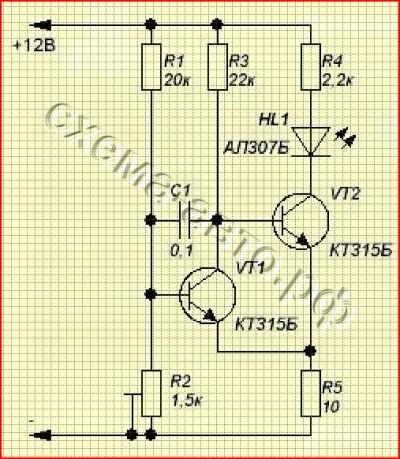 высокоточный индикатор разряда АКБ схема