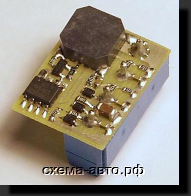 Незабывайка света на микроконтроллере