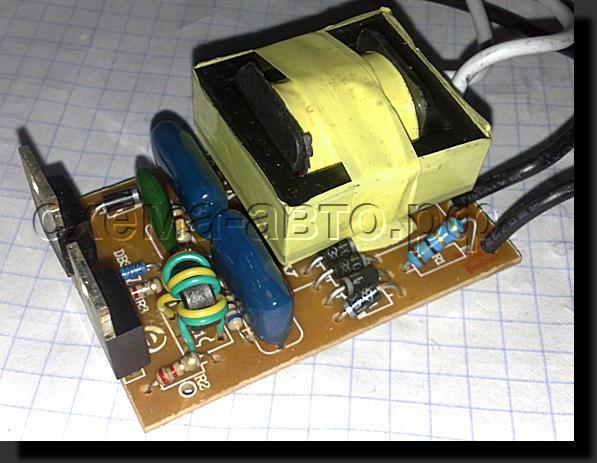 Ремонт электронных трансформаторов своими руками