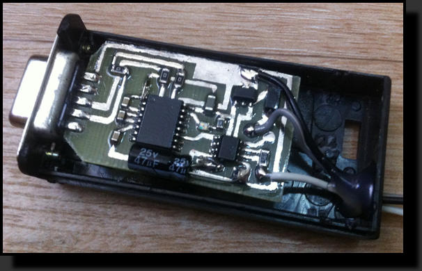 K-L-line адаптер схема
