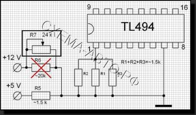 Зу для автомобильного аккумулятора из ATХ схема