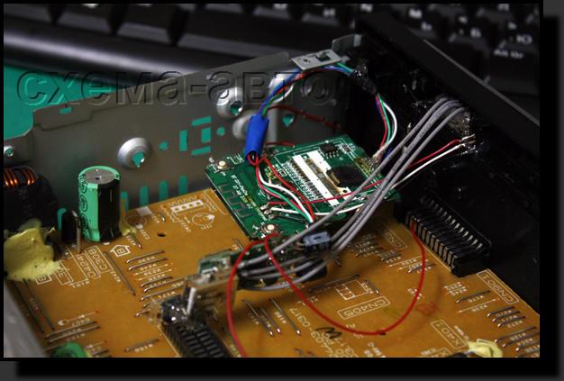 USB выход в автомагнитоле.