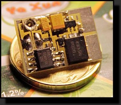 Двухпроводной фотосенсор, мощный и маленький