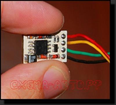 Делитель импульсов на микроконтроллере