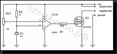 Контроллер для ДХО без микроконтроллера