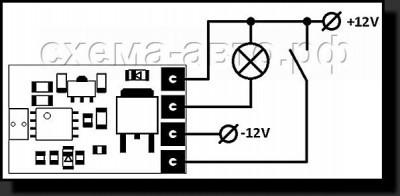 Димер для светодиодов на микроконтроллере Attiny25 схема фото