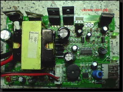 Инвертор автомобильный или DC-AC конвертор  плата фото