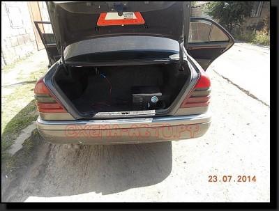 Домашний сабвуфер в автомобиле