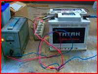 Регулятор тока зарядного устройства