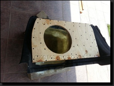 Установка сабвуфера-стелса в багажник