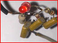 Простой сенсорный выключатель, схема