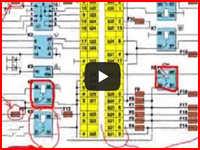 Условные обозначения элементов электросхемы сильно упрощает анализ схемы. Сегодня поговорим об условных обозначениях электрических деталей схемы. Видео будет полезно как начинающему автоэлектрику, так и простому автолюбителю.
