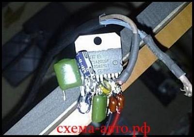 Усилитель на микросхеме TDA2004 в авто