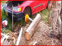 Колка дров авто