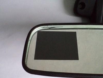 Вставляем видеорегистратор в зеркало заднего вида