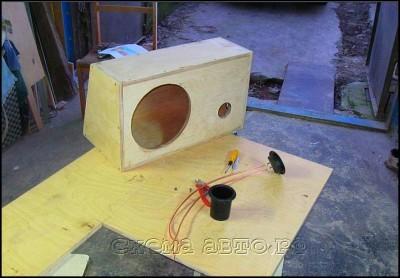 Ящик для сабвуфера своими руками