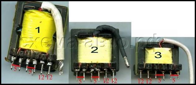 Импульсный трансформатор для блока питания своими руками 627